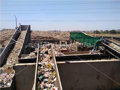 مصنع الغار لتدوير القمامة