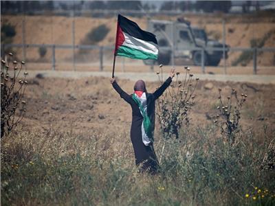 صورة من احتجاجات غزة اليوم
