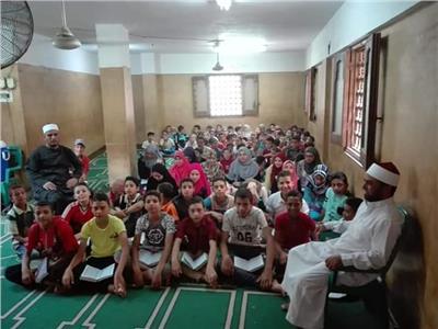 من إحدى المدارس القرآنية
