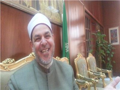 الشيخ احمد عبد المؤمن وكيل اوقاف المنوفيه