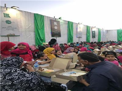حفل إفطار جماعى لقرية أبيس بالإسكندرية