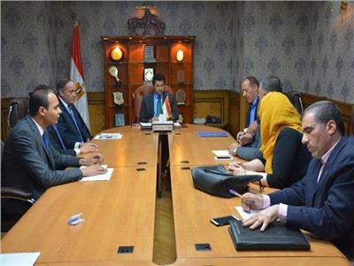 وزير الشباب والرياضة يستقبل رئيس وأعضاء الاتحاد المصري للمصارعة