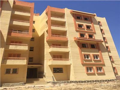 مشروع الإسكان الاجتماعى بجمصة بمحافظة الدقهلية