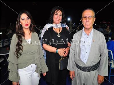سهير المرشدي وآية عبد الله خلال الحفل