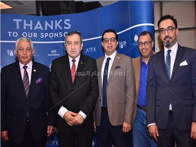 صور  عصام شرف يشارك بحفل سحور وائل قابيل