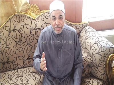 الشيخ جابر طايع رئيس القطاع الدينى بوزارة الأوقاف