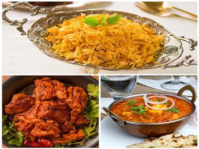 فطارك عندنا   تندوري الدجاج الهندي - الأرز البرياني