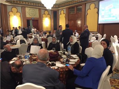 أسر الشهداء في حفل إفطار نادي قضاة مجلس الدولة