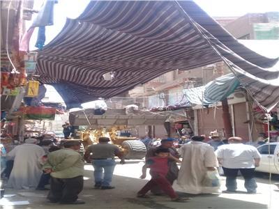 حملة مكبرة لإزالة الاشغالات والتعديات بشوارع أسيوط