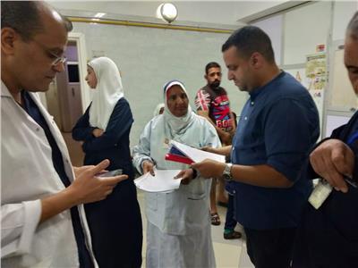 حملات مفاجئة على الإدارات الصحية بمحافظة أسيوط