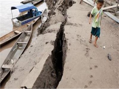الأثار المدمرة لزلزال بيرو بقوة 8 درجات