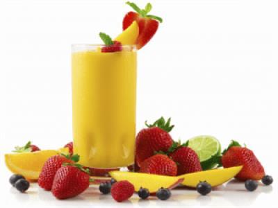 عصير الفواكه المثلج