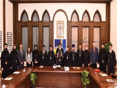 للقاء لجنة العلاقات بين الكنيستين القبطية والروسية