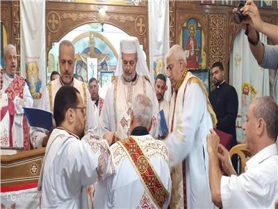 ختام الشهر المريميّ وسيامة دياكونيّة في كنيسة السيّدة العذراء بإمبابة