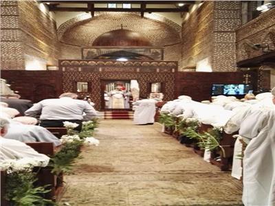 البابا تواضروس يترأس قداس عيد دخول العائلة المقدسة  مصر