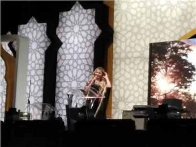 رزان مغربي تقدم حفل «مصر بتفطر» بالعاصمة الإدارية الجديدة