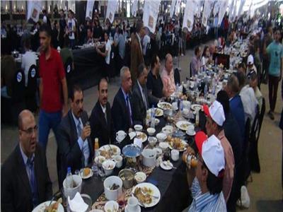 مائدة افطار العاصمة الادارية