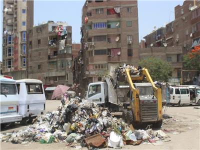 محافظ الجيزة رفع 25 ألف طن مخلفات من الشوارع خلال عيد الفطر المبارك