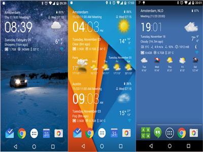 تطبيقات لمعرفة حالة الطقس