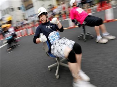 سباق الكراسي المتحركة