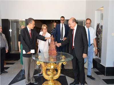 زيارة سفيرة فنلندا فى مصر