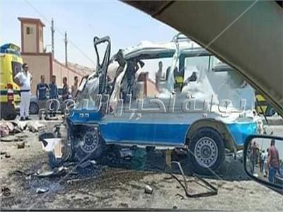 صورة من مكان الحادث