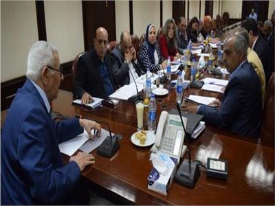 صورة من اجتماع  المجلس الأعلي لتنظيم الاعلام