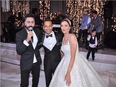 زفاف ابنة أحمد سليمان.. وتامر حسني نجم الحفل