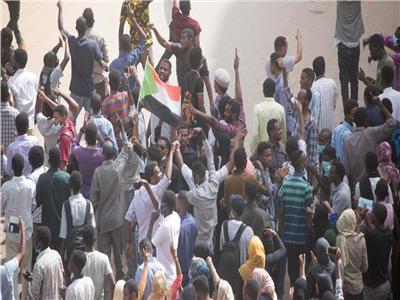 صورة من الاعتصام