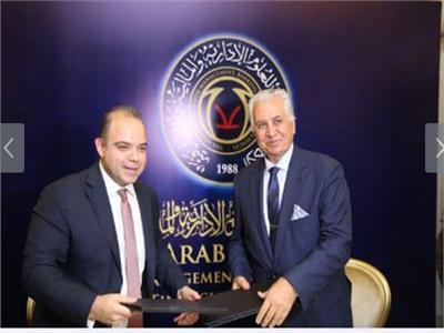 خلال توقيعمذكرة تعاون بين البورصةوالأكاديمية العربية للعلوم الإدارية والمالية