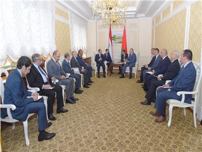 لقاء السيسي في بيلاروسيا