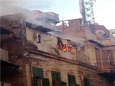 المنزل المحترق بدمنهور