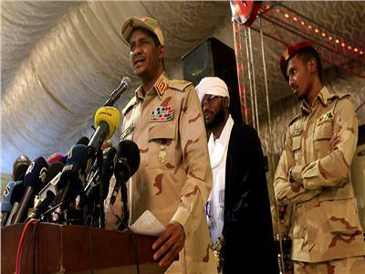 نائب المجلس العسكري السوداني الانتقالي الحاكم الفريق محمد حمدان دقلو