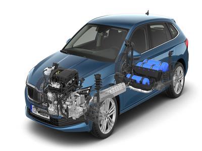 سيارة سكودا الجديدة  لعام 2020