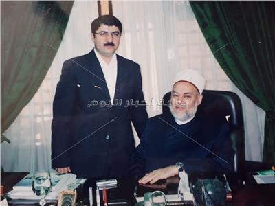 الدكتور سيمور نصيروف في زيارة للدكتور علي جمعة