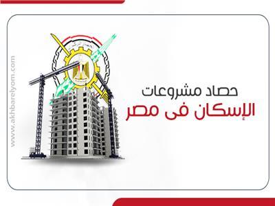 إنفوجراف| 326.3 ألف وحدة سكنية منفذة باستثمارات قدرها 106.9 مليارات جنيه