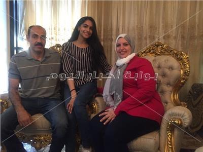 الطالبة فاطمة فؤاد أبو سريع