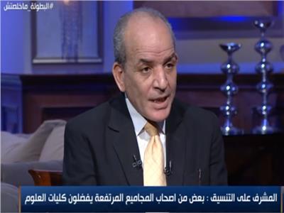 سيد عطا - رئيس قطاع التعليم والمشرف على التنسيق بوزارة التعليم العالي
