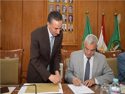 الدكتورعادل مبارك رئيس جامعة المنوفية