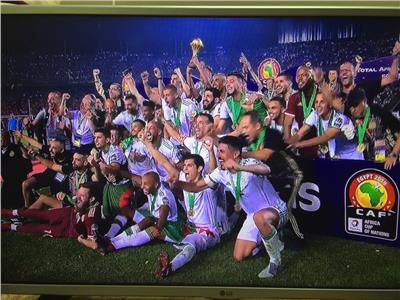 فوز منتخب الجزائر بطولة الامم الافريقية