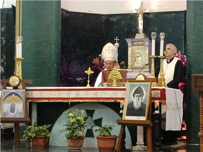 الكنيسه المارونيه تحتفل بعيد مار شربل