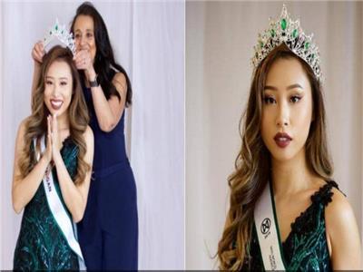 الحسناء كاثي زو ملكة جمال ولاية ميشغان الأميركية