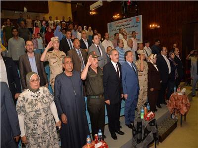 محافظ أسيوط يشهد الاحتفال بذكرى ثورة 23 يوليو