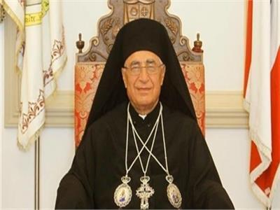 البطريرك يوسف العبسي بطريرك الروم الملكين الكاثوليك