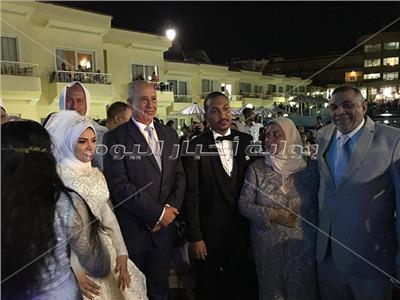 جابر طابع يحتفل بزفاف كريمته «سارة»
