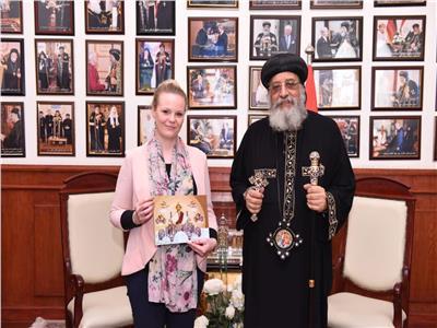 البابا تواضروس الثانى بابا الاسكندريةً