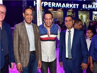 محمد عبد الحافظ يشارك بحفل افتتاح إحدى المحلات بمسطرد