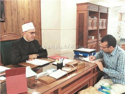 د.نظير محمد خلال الحوار