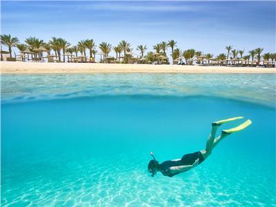 صورة للشواطىء المصرية