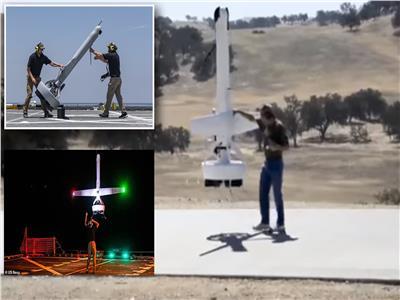 """اختبار الطائرة بدون طيار """"V-Bat"""""""